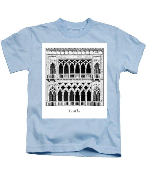 Ca' D'oro Kids T-Shirt