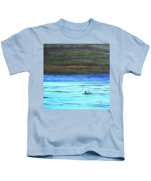 Call Of The Loon Kids T-Shirt