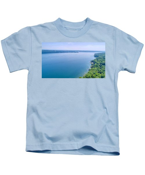 Cayuga From Above Kids T-Shirt