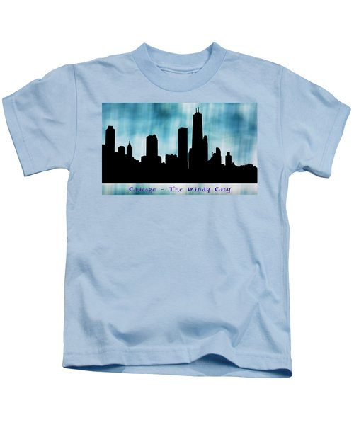 Chicago The Windy City Kids T-Shirt