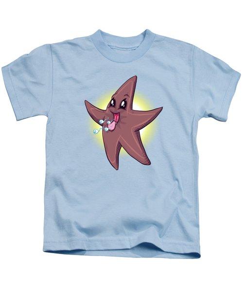 Chocolate Starfish Kids T-Shirt