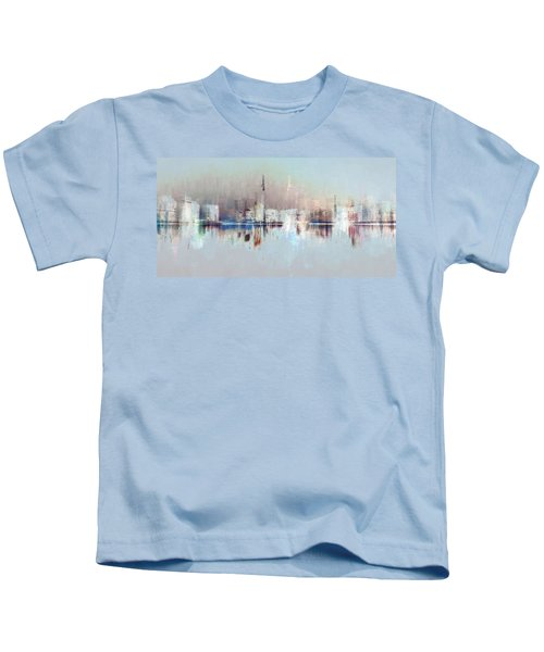 City Of Pastels Kids T-Shirt
