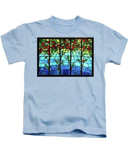Climbing Vines Kids T-Shirt