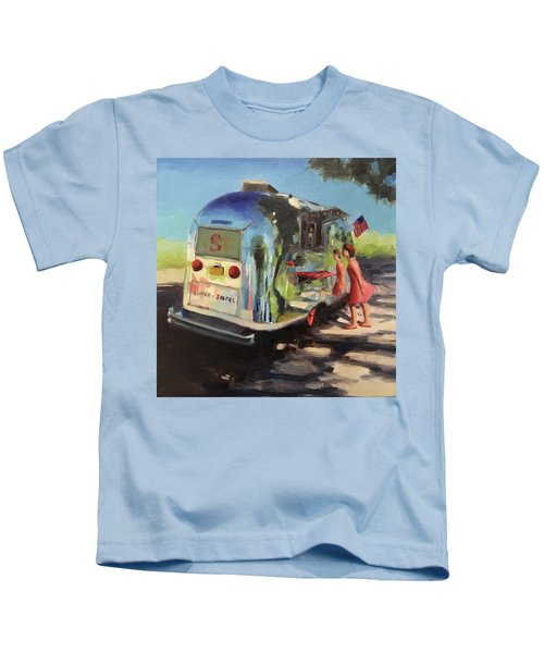 Coffee In The Shade Kids T-Shirt
