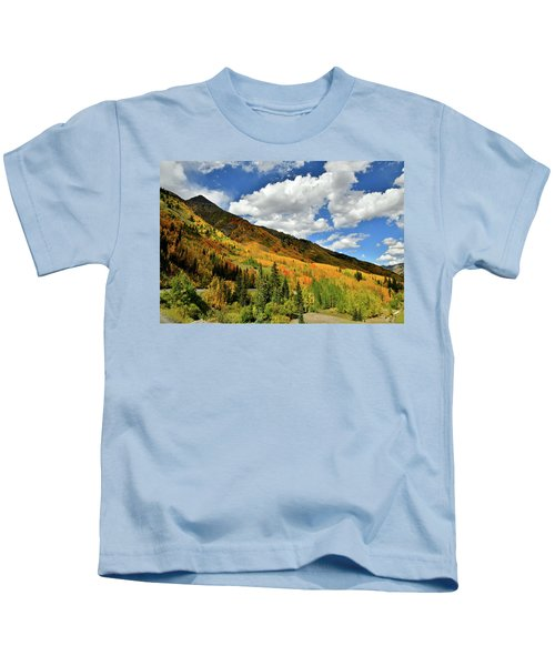 Color In The Spotlight At Red Mountain Pass Kids T-Shirt