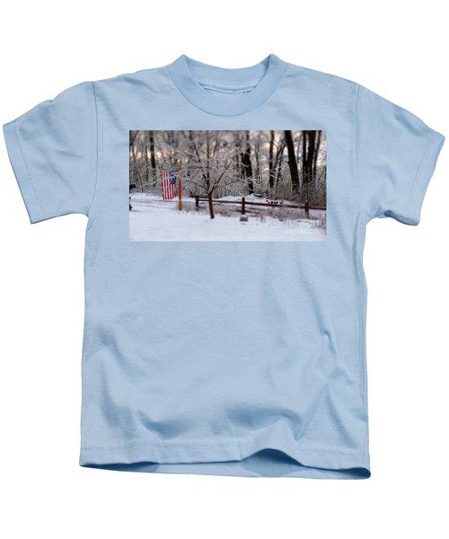 Colors Never Run Kids T-Shirt