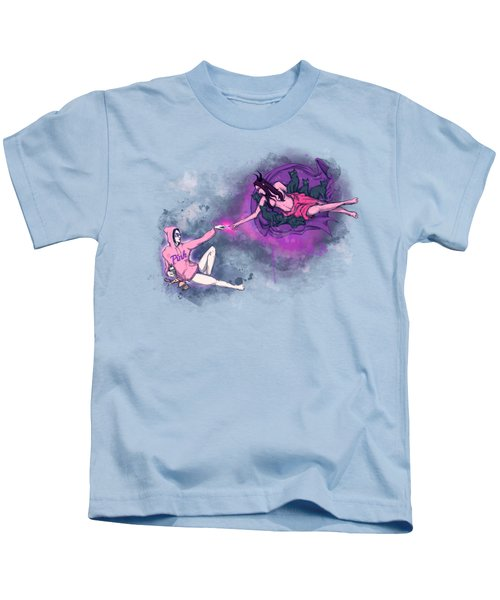 Creation Of Woman Kids T-Shirt