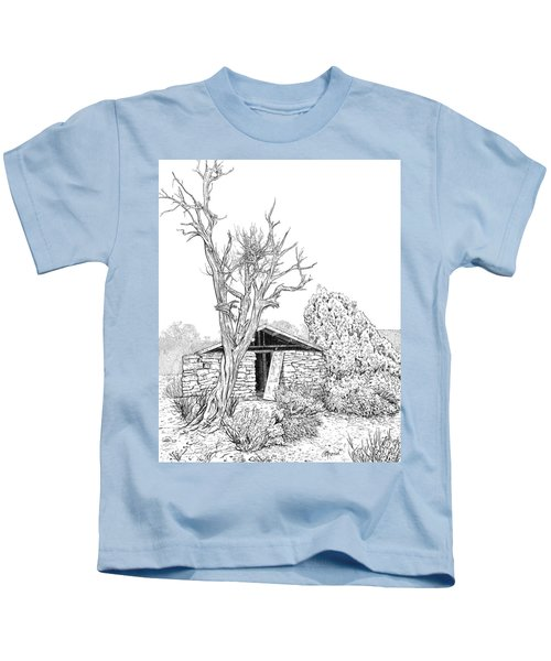 Decay Of Calamity The Half Life Of A Dream Black And White  Kids T-Shirt