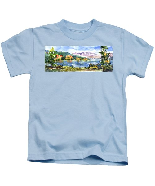 Donner Lake Fisherman Kids T-Shirt