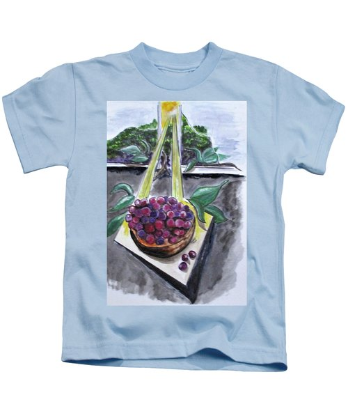 Dreams Of Grapes Kids T-Shirt
