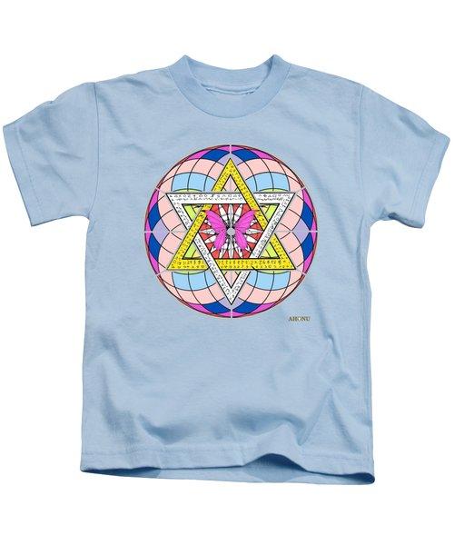 Eager Soul Portrait Kids T-Shirt