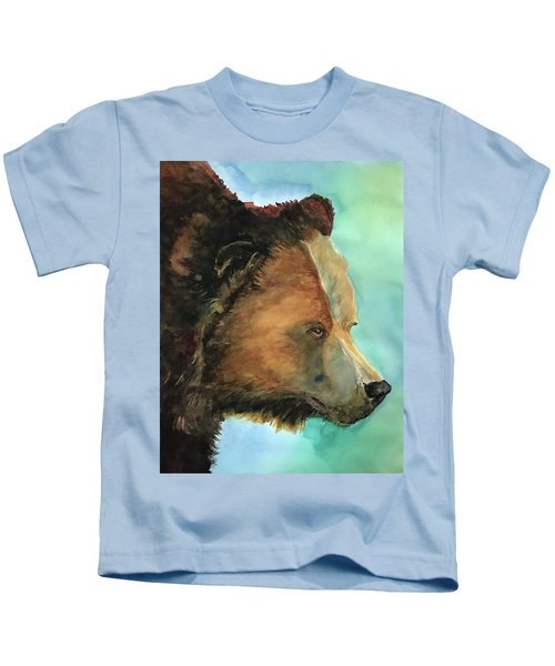 Face To Face Bear Kids T-Shirt