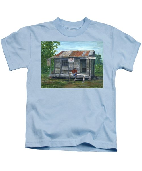 Fish Store, Natchitoches Parish, Louisiana Kids T-Shirt