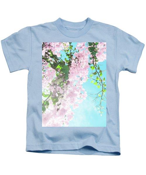 Floral Dreams IIi Kids T-Shirt