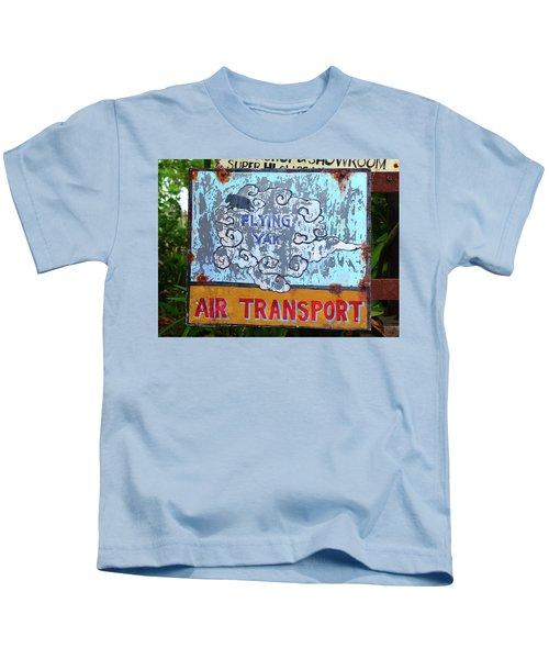 Flying Yak Air Transport Kids T-Shirt