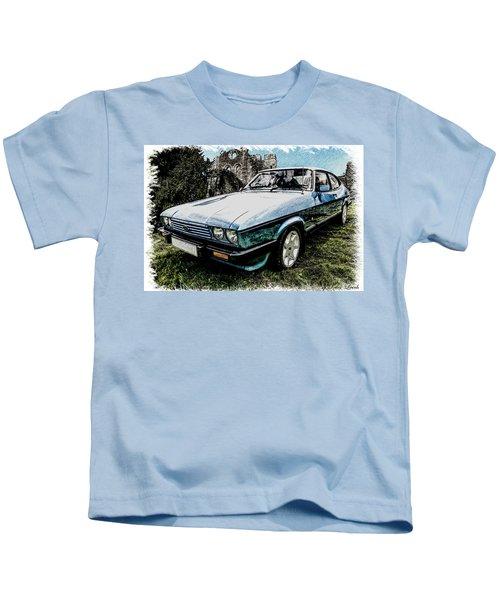 Ford Capri 3.8i Pencil V2 Kids T-Shirt