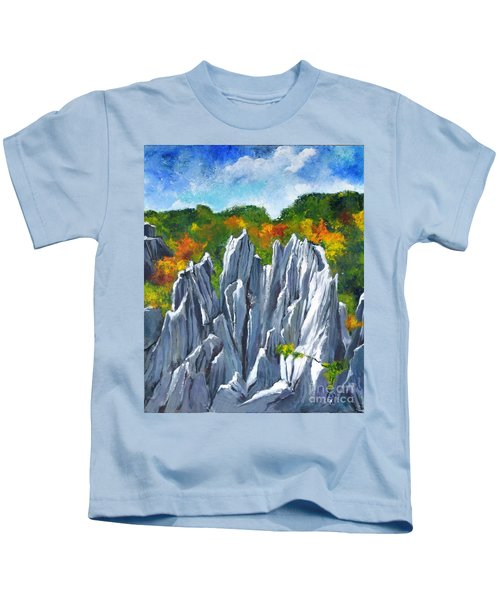 Forest Of Stones Kids T-Shirt