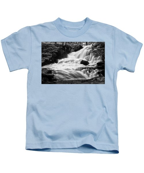 French Alps Stream Kids T-Shirt