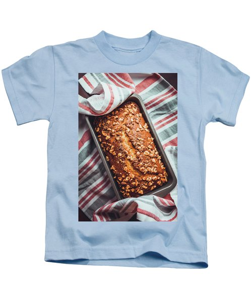 Freshly Baked Banana Bread Kids T-Shirt