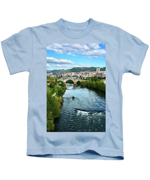 From The Top Of The Millennium Bridge Kids T-Shirt