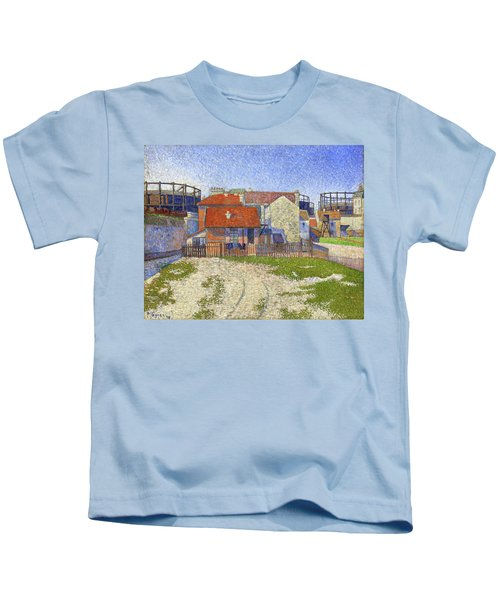 Gasometers At Clichy - Digital Remastered Edition Kids T-Shirt