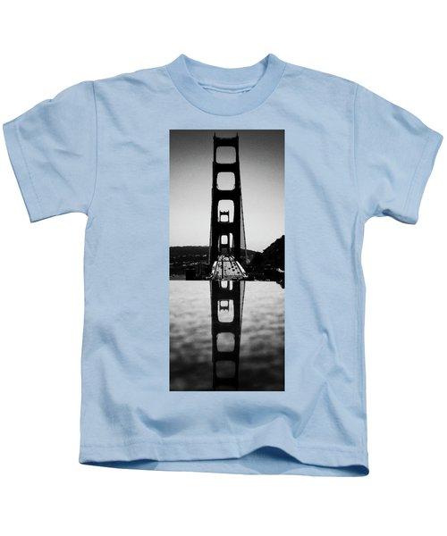 Golden Gate Reflection Kids T-Shirt