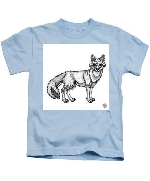 Gray Fox Kids T-Shirt
