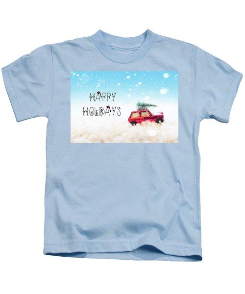 Happy Holidays Kids T-Shirt