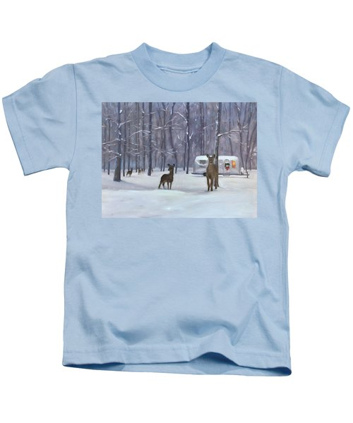 Have Yourself A Shiny Little Christmas Kids T-Shirt