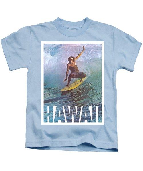 Hawaii Surfer Kids T-Shirt