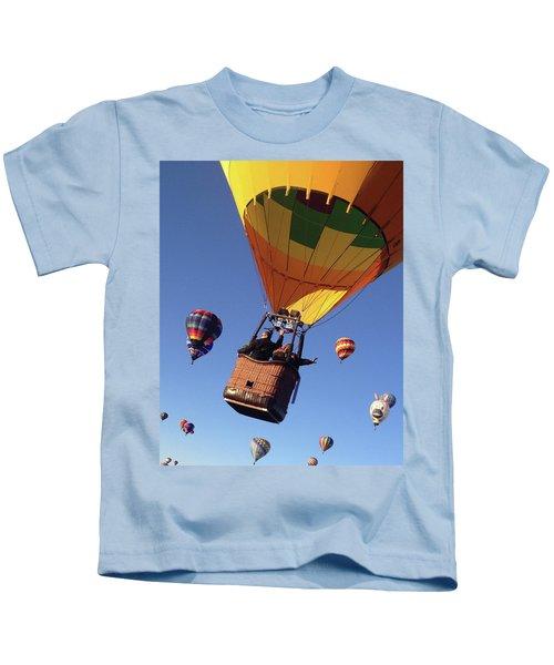 Hi From Up High Kids T-Shirt