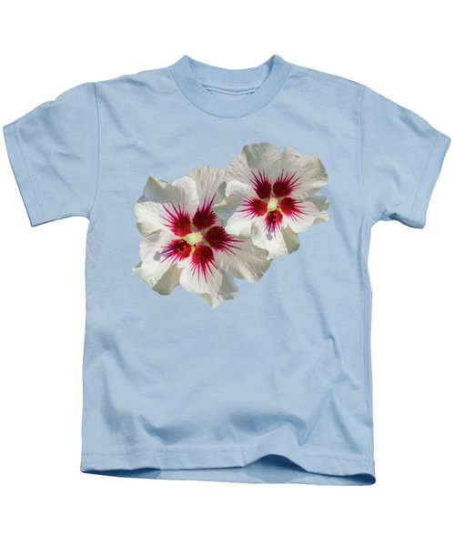 Hibiscus Flower Pattern Kids T-Shirt