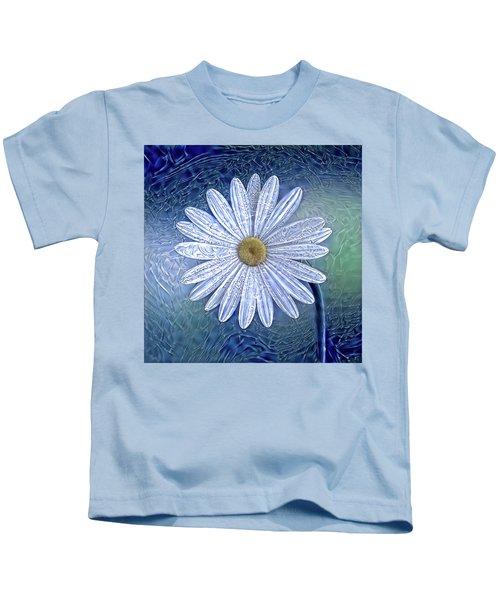 Ice Daisy Flower Kids T-Shirt