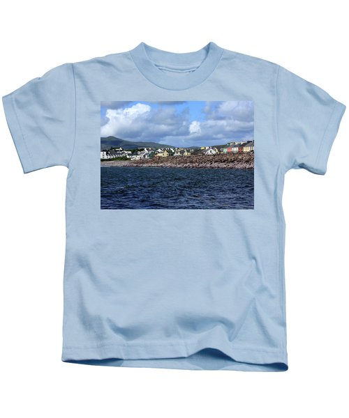 Irish Seaside Village, Co Kerry  Kids T-Shirt