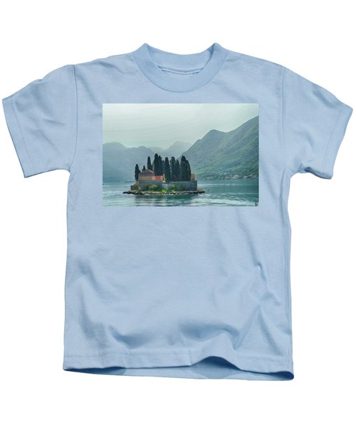 Island Church Of St George Kids T-Shirt