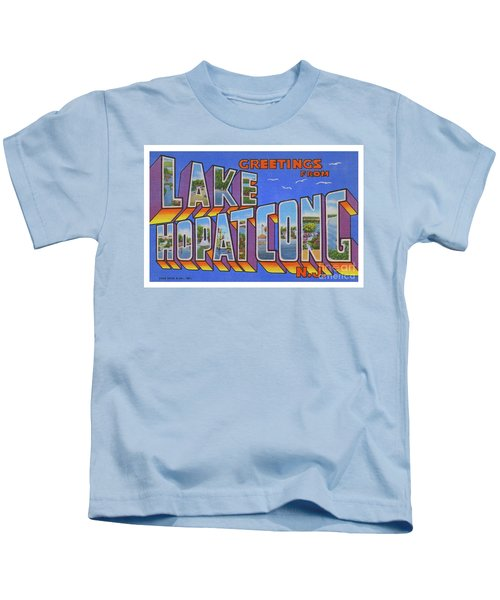 Lake Hopatcong Greetings Kids T-Shirt