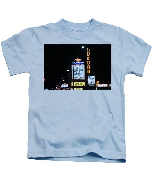 Las Vegas 1984 #4 Kids T-Shirt