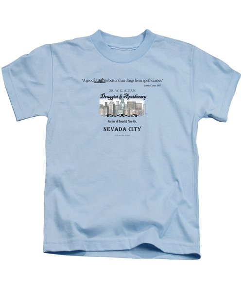 Laughter Is The Best Medicine - Apothecary Kids T-Shirt