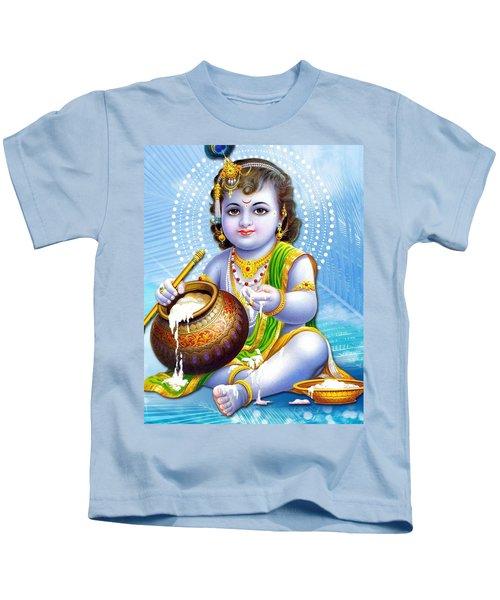 8ecf9467 Little Boy Lord Shri Krishna Kids T-Shirt