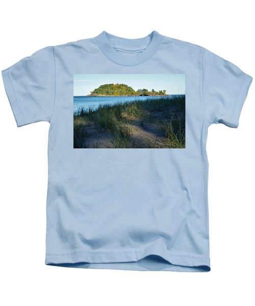Little Presque Isle Island Kids T-Shirt