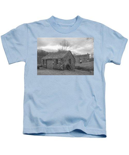 Lock House And Store - Waterloo Village Kids T-Shirt