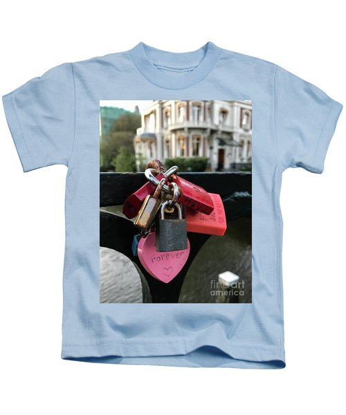 Lock Up Your Love Kids T-Shirt