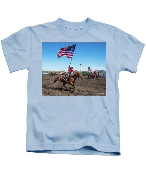 Long May It Wave Kids T-Shirt