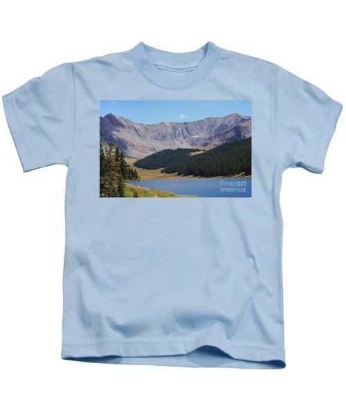 Longs Peak Colorado Kids T-Shirt