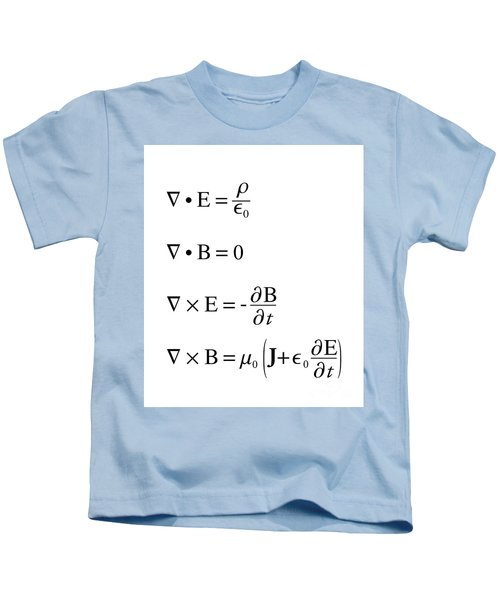 Maxwell's Equations Kids T-Shirt