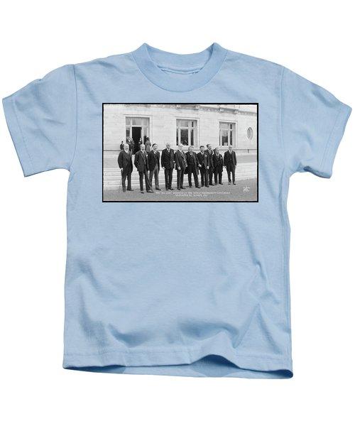Members Of The World Disarmament Kids T-Shirt