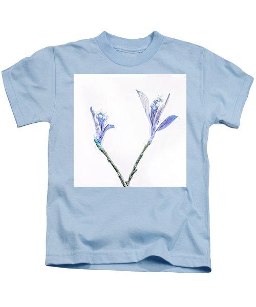Minimalist Chokeberry Buds Kids T-Shirt