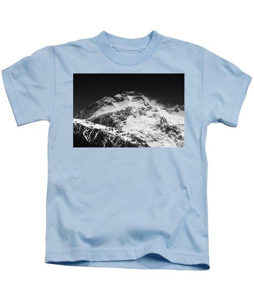 Monochrome Mount Sefton Kids T-Shirt