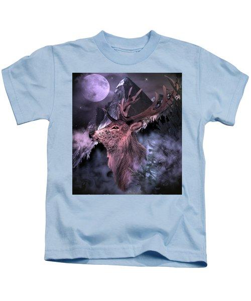Moonlight Buck Kids T-Shirt