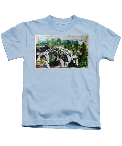 Mother Money Begins To Collapse Kids T-Shirt